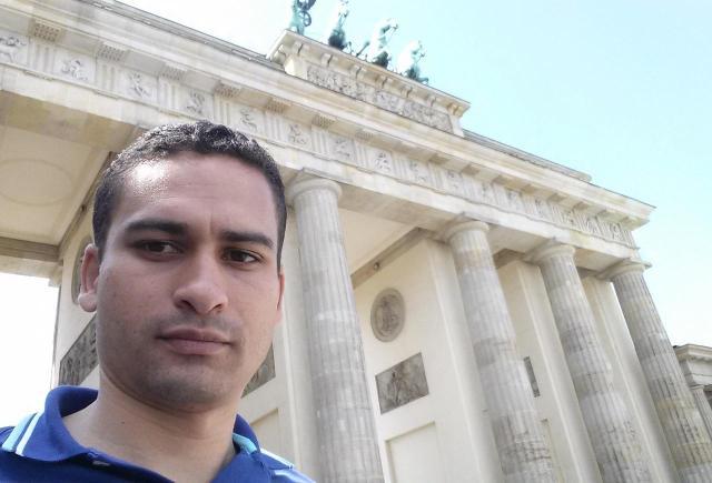 Viajando sozinho pela Europa_selfie_Viajando bem e barato