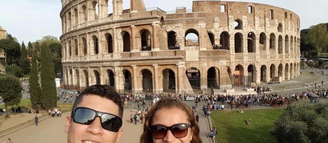 França, Itália e Espanha: a primeira viagem para a Europa de Morag e Fabiano