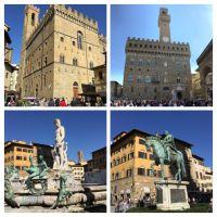 Florencia: La piazza della Signoria