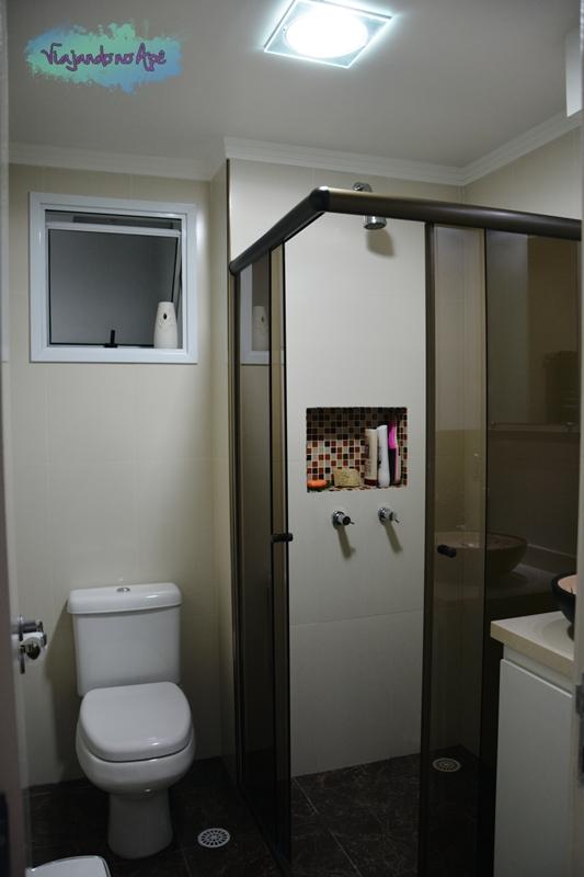O Banheiro Social -> Nicho Banheiro Com Pastilhas
