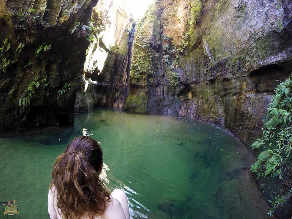 Cascada de les Ninfes. viajar a Madagascar