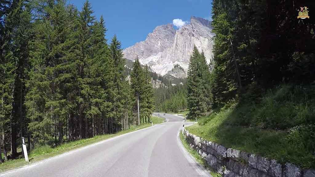 carreteras en Dolomitas