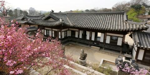 Conjunto del palacio de Changdeokgung