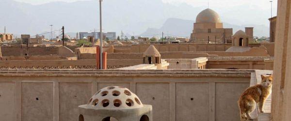 Casco Antiguo Yazd Irán