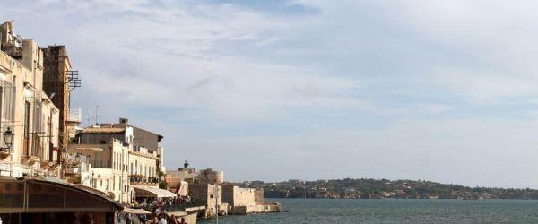 Vistas Ortigia Siracusa Sicilia