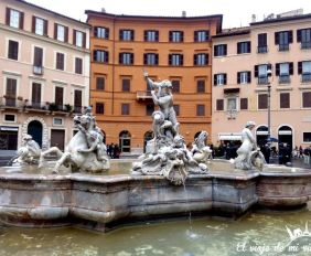 Piazza Navona Roma Italia