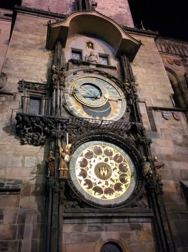 Reloj astrologico Praga