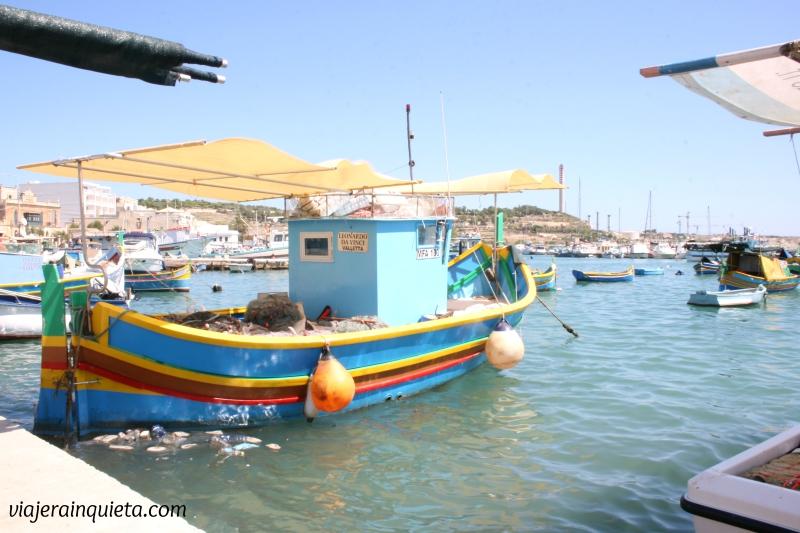 Puerto de Marsaxlokk Malta