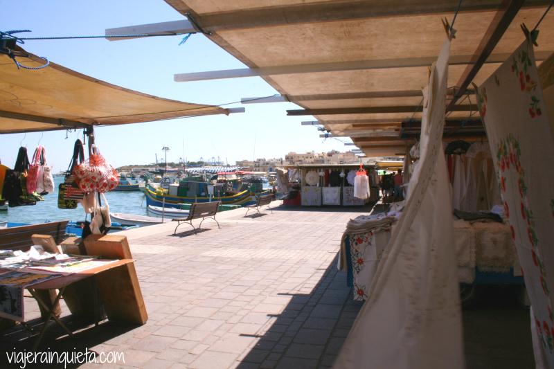 Mercadillos Puerto de Marsaxlokk