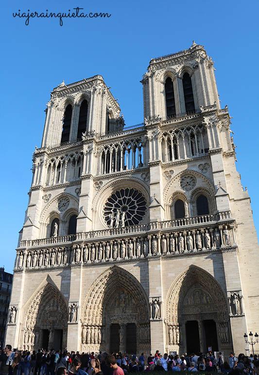 Visitar Notredame Paris