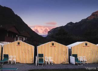 Tent Village, alojamiento barato en Interlaken