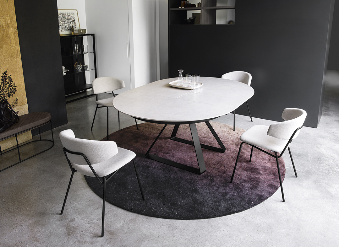 Table A Manger Ronde Calligaris