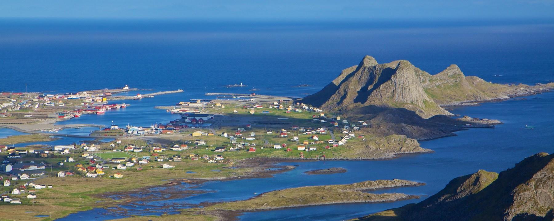 Fishing port on Lofoten