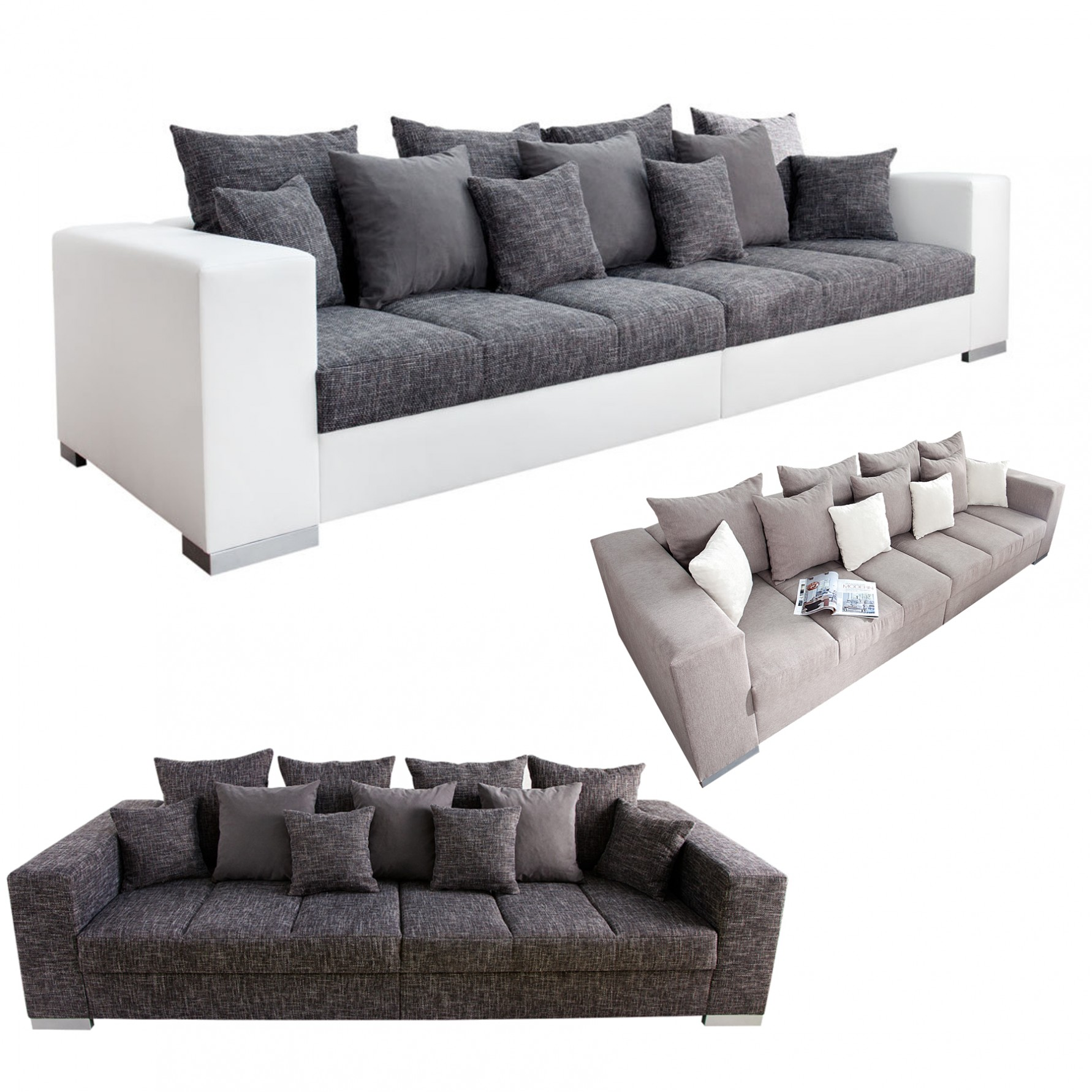 Big Sofa Xxl Big Sofa L Form Awesome Sofa L Form Braun Frisch Sofa Leder Great