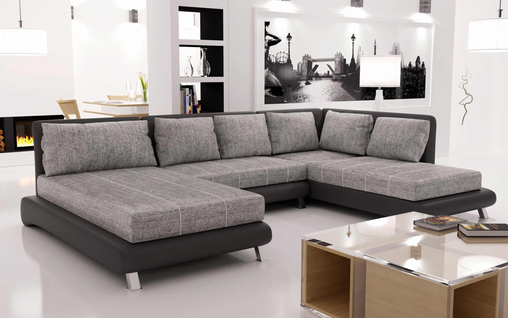 Big Sofa Gebraucht Xxl Couch U Form — Vianova Project