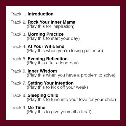 Track List Rock Your Inner Mama