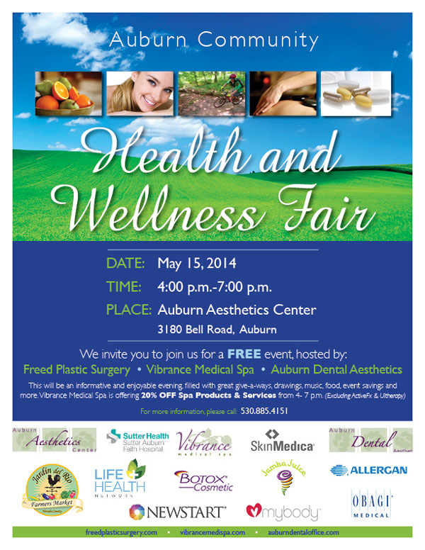 Health Fair May 15 Vibrance Medical Spa