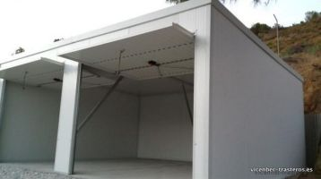 Garajes prefabricados metálicos