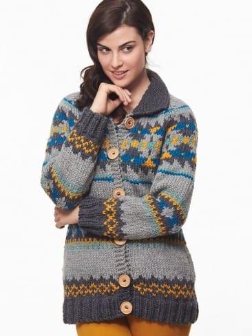 Trendspotting: Cowichan Sweaters! - Yarnspirations Blog