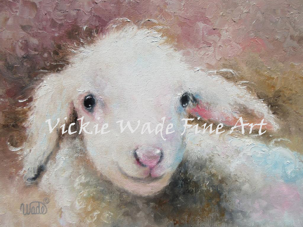 Baby Lamb Drawing Vickie Wade Fine Art Just A Simple Diary Of My Art