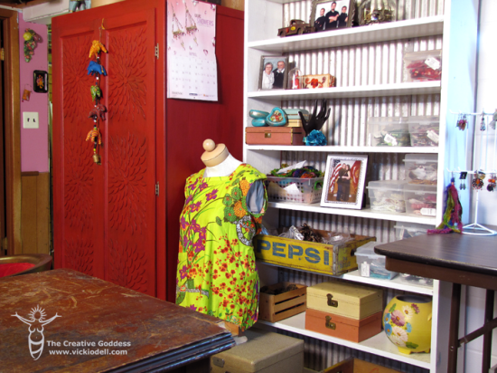 The Creative Goddess - Studio Tour