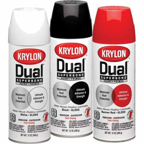 review it krylon dual superbond spray paint vicki o 39 dell the. Black Bedroom Furniture Sets. Home Design Ideas