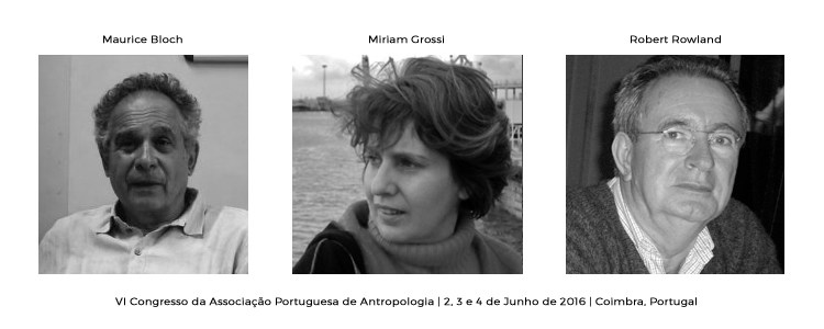 Keynote Speakers – Maurice Bloch, Miriam Grossi e Robert Rowland