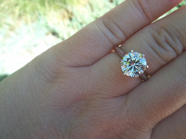 Diamons Solitaire Ring