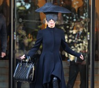 Lady Gaga?s Alexander McQueen Bag is the Least Insane Thing About Her Outfit