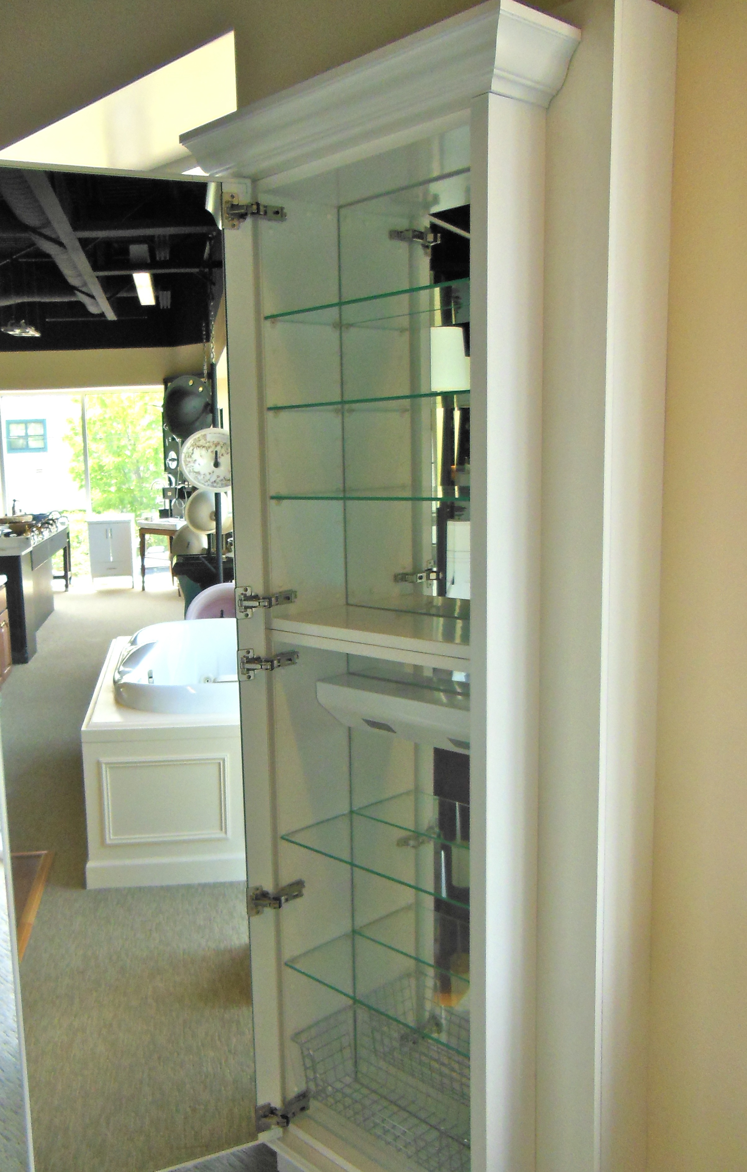 Tall Bathroom Mirrors Love This X Large Medicine Cabinet Designing Our
