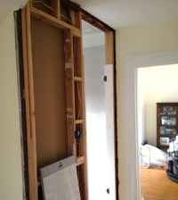A Custom Medicine Cabinet... making progress. - Victoria ...