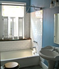 Vintage Inspired DIY bathroom remodel. Before and After ...