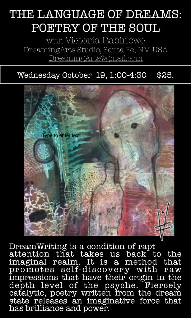 2016-October-POETRY-OF-SOUL-Workshop-Victoria-Rabinowe-Santa-Fe-NM-Dreaming-Arts-Studio