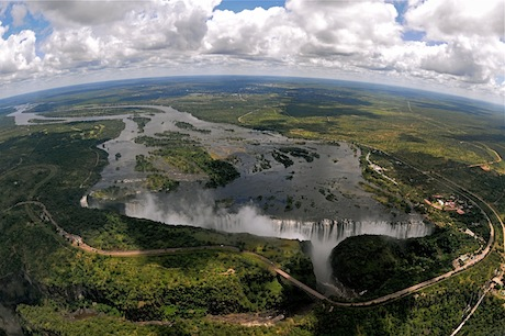 Victoria Falls Hd Wallpaper Zambia Aims To Attract More Investment In Tourism In