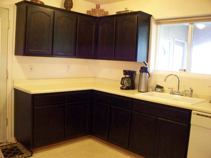 How To Finish Kitchen Cabinets Stain A Complete Kitchen Make Over To Wow You – Walls Stencils