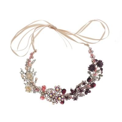 Bespoke Vintage Collage Necklace no.15111