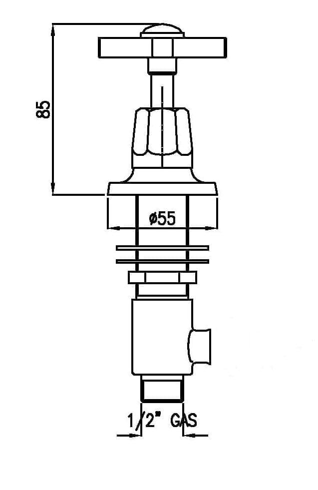 Britannia side valve - Art Deco - Home