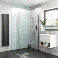 Bathroom acrylic wall panels | VictoriaPlum.com