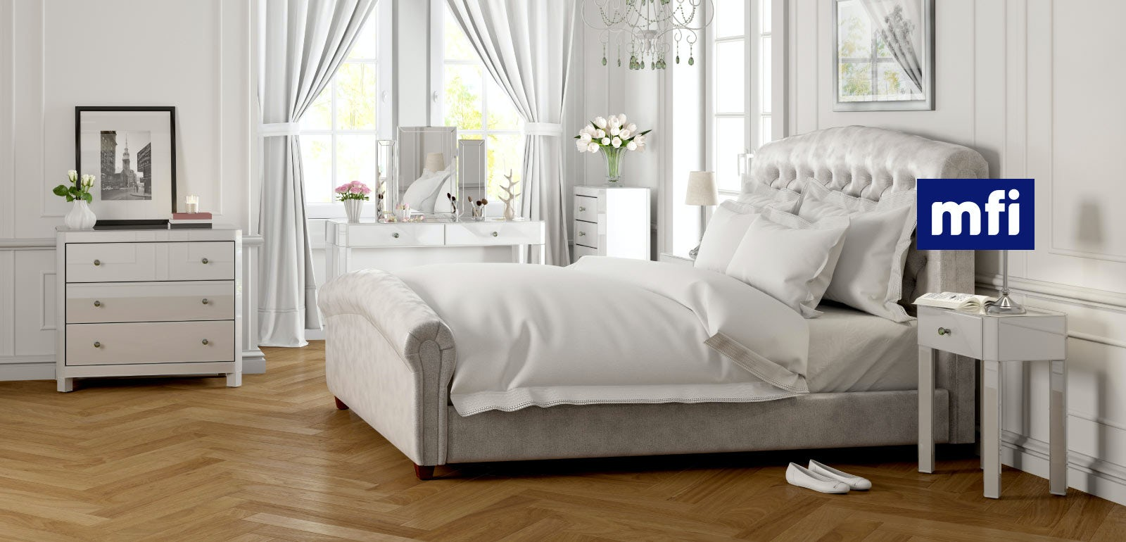 White Glass Bedroom Furniture Bedroom Furniture Ideas