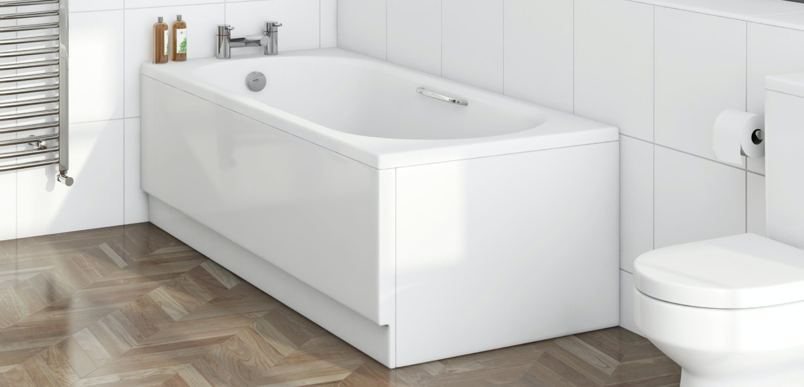 What is a standard bath size