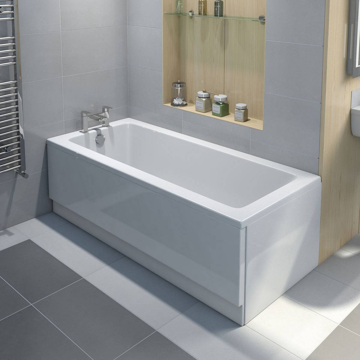 Bath Sizes Australia How To Fit An Acrylic Bath Panel With Step By Step Video