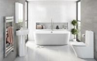 Grey Bathroom Ideas | VictoriaPlum.com