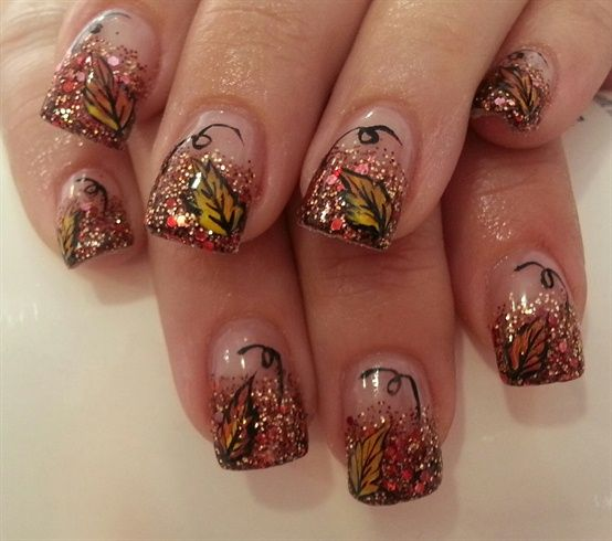 Inspirational Fall Nail Designs - Victoria\u0027s Glamour