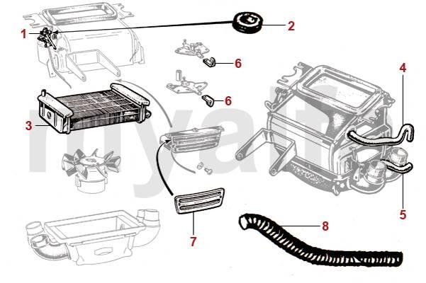 alfa romeo spider wiring heater