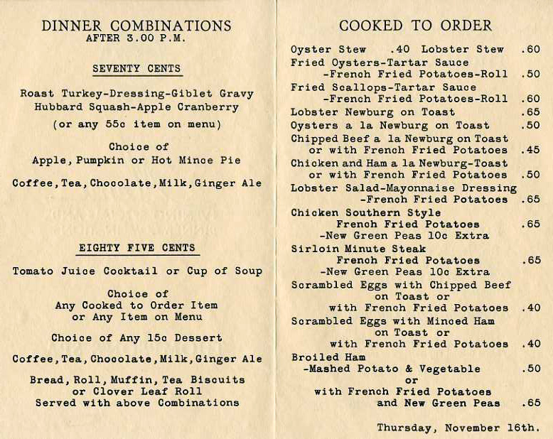 Boston restaurants Restaurant-ing through history