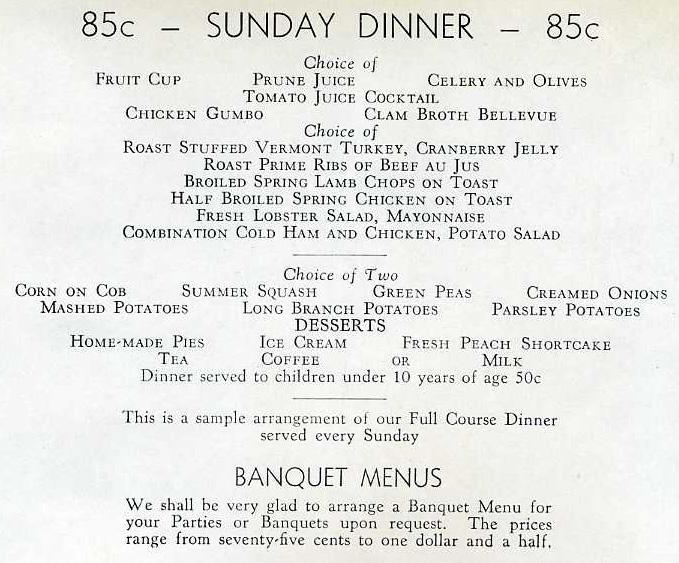 1930s Restaurant-ing through history