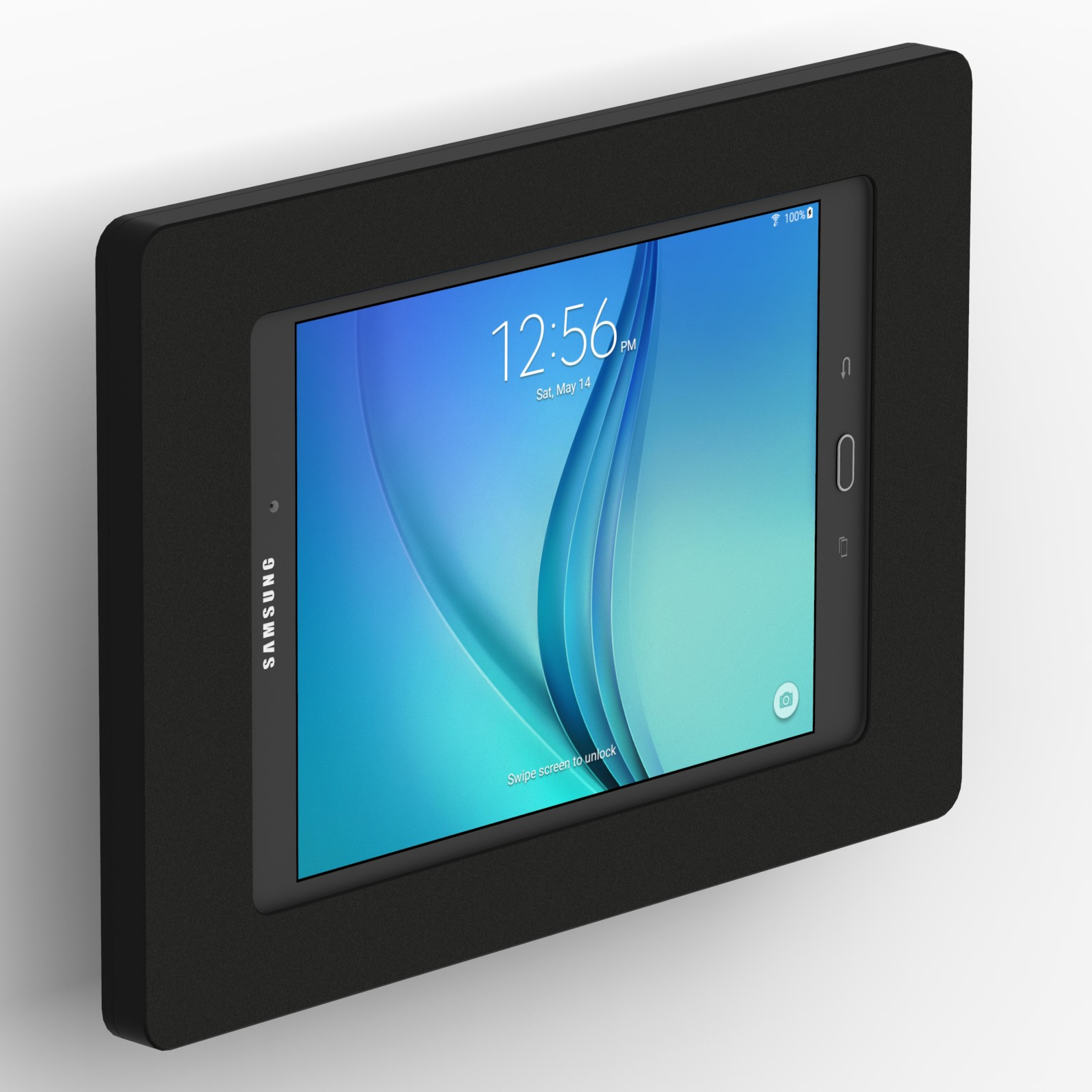 Galaxy Tab 9.7 Samsung Galaxy Tab A 9 7 Black Enclosure W Tilting Vesa Wall Mount