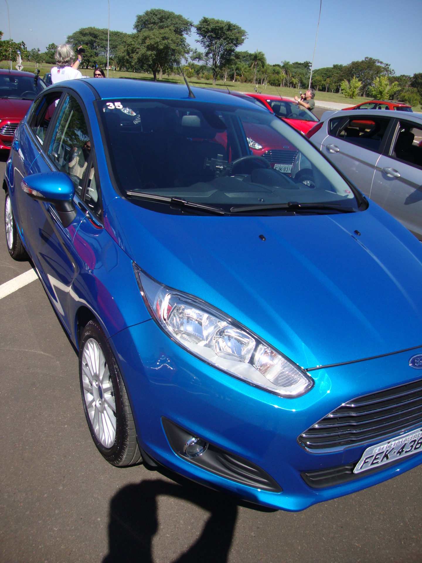 New Fiesta 2014 Test Drive Com O Ford New Fiesta 2014 Passeio Na