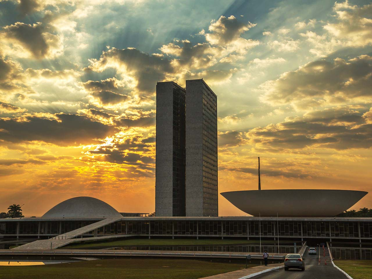 Brasilia Df Distrito Federal - As Belezas Das Obras De Oscar Niemeyer!