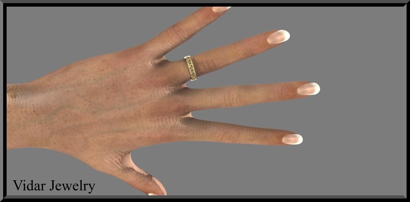 womens wedding band yellow gold wedding ring for women Women s Wedding Band Yellow